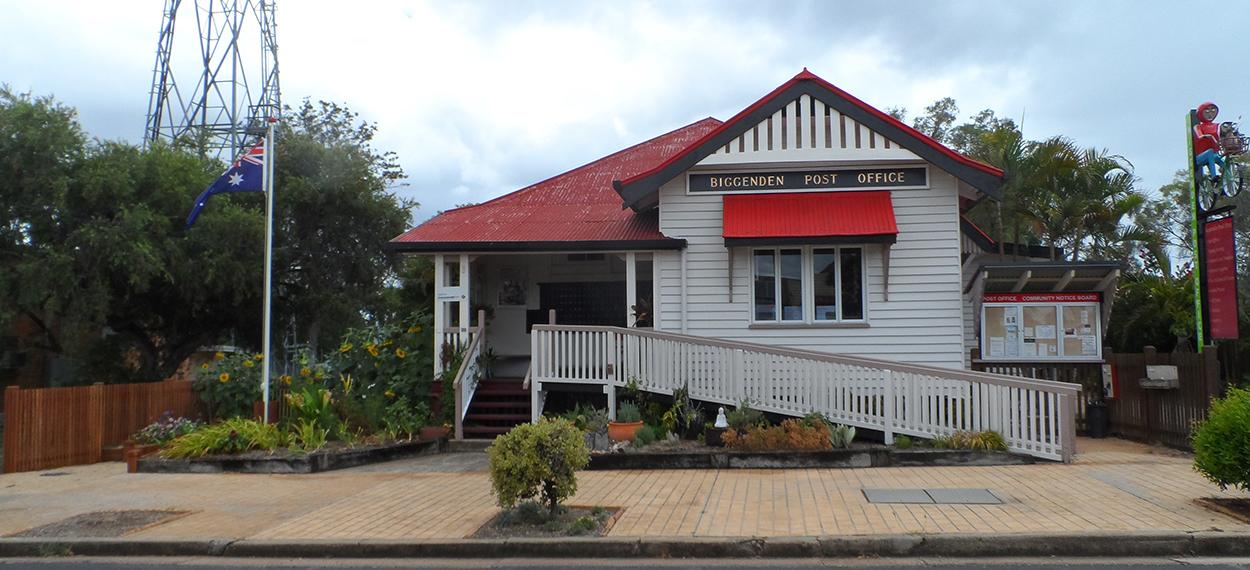 north burnett post office, biggenden post office for sale